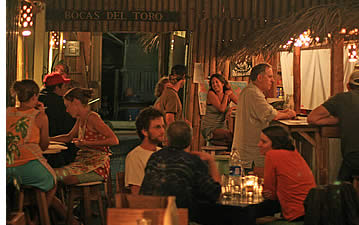 Restaurants in Bocas del Toro, Panama
