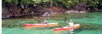 Sea Kayaking in Bocas del Toro