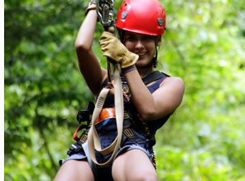 Zipline Canopy Tour by Red Frog Beach in Bastimentos, Bocas del Toro